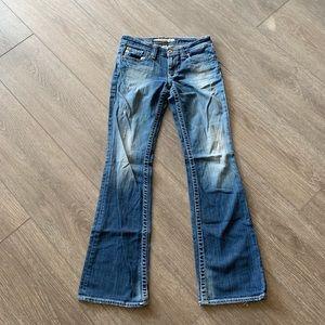 Big star jeans Casey K low rise fit size 27 long